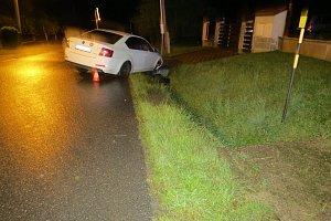 Dopravní nehoda ve Valašských Kloboukách