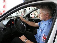 Městská policie v Rožnově pod Radhoštěm. Ilustrační foto.