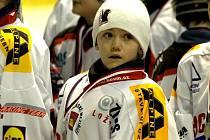 Brankář Bobrů Michal Postava byl na turnaji v Prostějově vyhlášen nejlepším gólmanem.