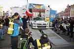 Slavnostní start Valašské rally