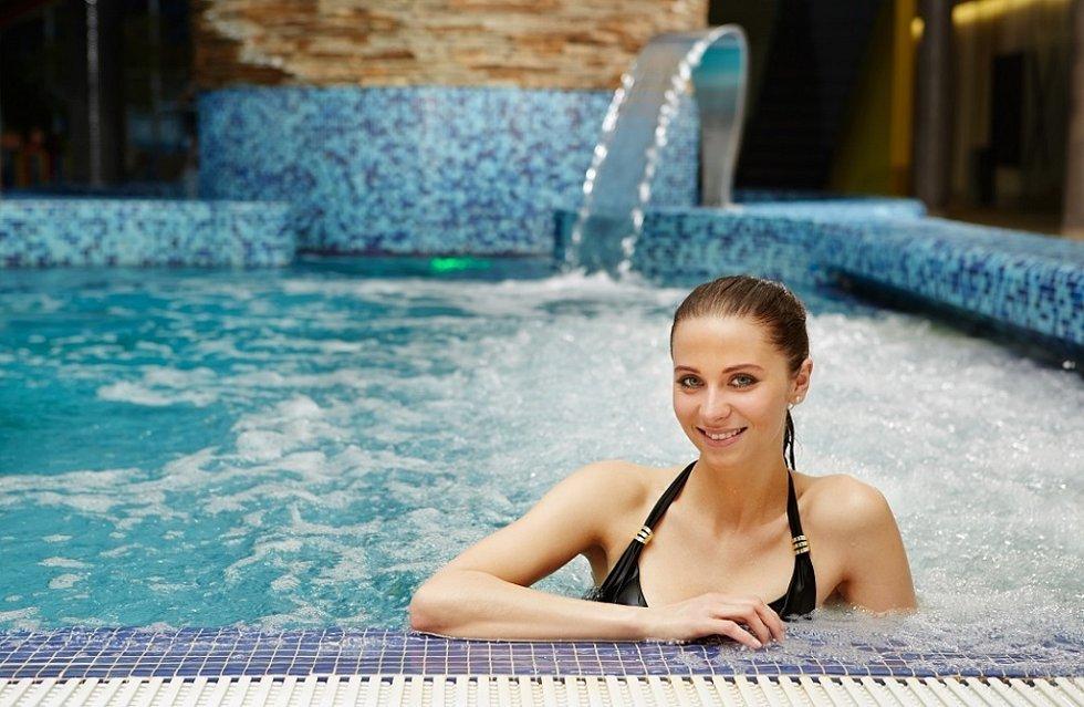 Wellness Horal: termální bazény.