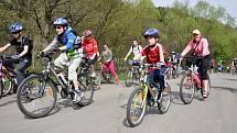 Cyklostezka Bečva ve Vsetíně. Ilustrační foto