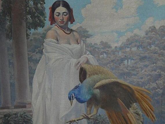 Obraz Jaroslava Skryji (ořez)