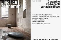 Plakát k výstavě Jindřicha Zeithammla v rožnovské Brillovce.