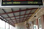 24 června ve 13 hodin se zastivily všechny vlaky i v železniční stanici Staré Město.