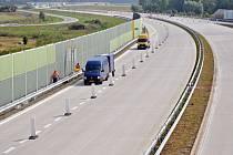 Zprovoznění jednoho ze tří nových plánovaných úseků silnice I/35 u Valašského Meziříčí