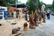 Téměř třicítka borců se sešla v sobotu 12. května 2018 na třetím ročníku dřevorubecké soutěže. Bojovali o titul Prlovský dřevař. Své umění předváděli také umělečtí řezbáři.