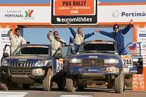 Viktor Chytka si rally dakarské série užíval
