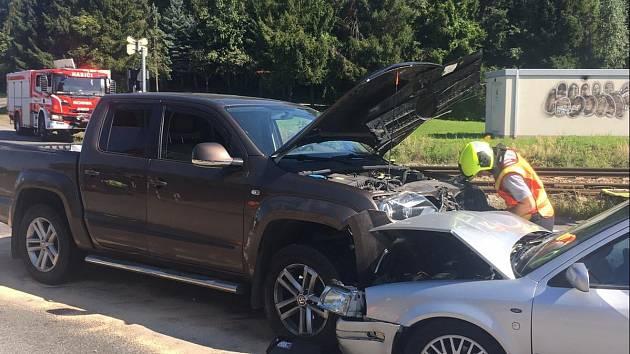 Dopravní nehoda u Valašského Meziříčí