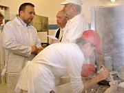Ministr zemědělství Marian Jurečka navštívil Integrovanou střední školu ve Valašském Meziříčí