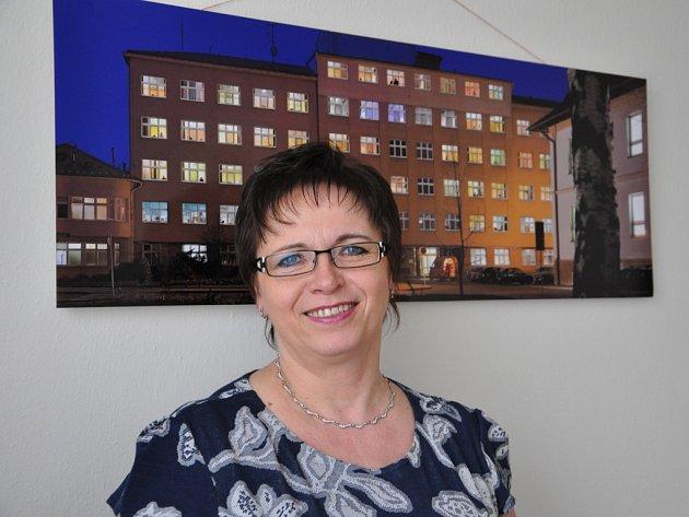 Ředitelka Vsetínské nemocnice Věra Prousková.