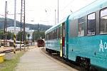 Společnost Arriva zavítala v pátek 12. července na Vsetín, aby budoucím cestujícím představila své soupravy.
