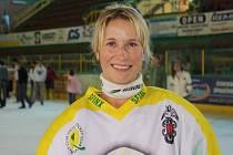 Hokejistka Vsetína Zuzana Povýšilová.