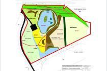Prostor pod přehradní hrází chtějí v Karolince přeměnit v rekreačně naučnou zonu.