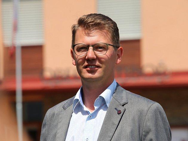 Starosta Ratiboře Martin Žabčík.