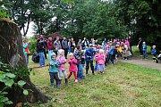 Zámek Lešná u Valašského Meziříčí se v sobotu 17. června 2017 proměnil v pohádkovou říši