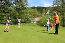 Výuka golfu pro děti