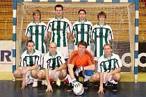 Futsalisté týmu Betis Francova Lhota.