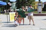 V Rožnově pod Radhoštěm se v úterý 21. srpna 2018 uskutečnil netradiční happening, který připomně