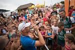 Triatlonový závod VALACHY MAN - start dětského závodu.