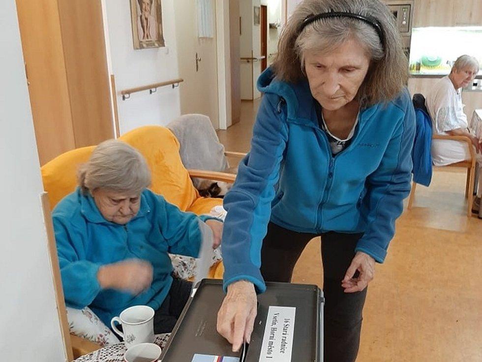 Volby v Domově Vyhlídka