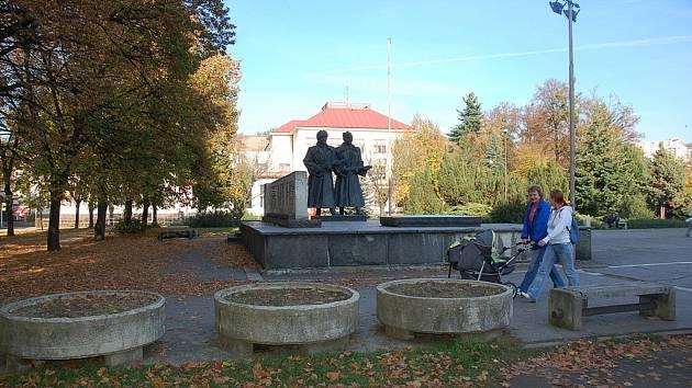 Náměstí Svobody ve Vsetíně čeká rekonstrukce.