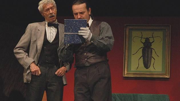 Herci Divadla v Lidovém domě zahráli Brouka v hlavě