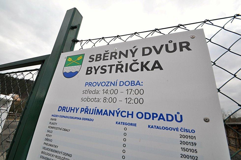 Obec Bystřička.