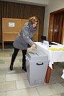 Druhé kolo prezidentských voleb 2018 ve Francově Lhotě.
