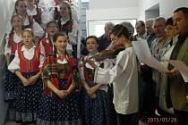 Folkloristé v Hošťálkové. Ilustrační foto.