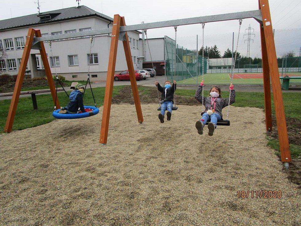 Nové hřiště v Poličné