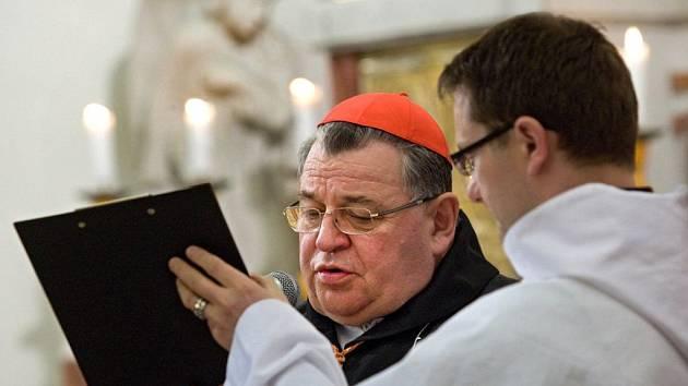 Mší, kterou celebroval kardinál Dominik Duka, si lidé připoměli svého rodáka Mons. Metoděje Kubáně, umučeného v koncentračním táboře.