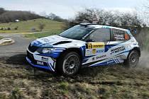 Kowax Valašská rally 2021, první etapa. 27. března 2021