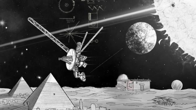 Ukázka ze hry Putování vesmírem.