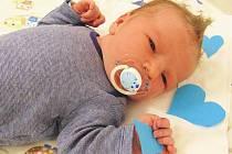 Samuel Gába, Kelč, narozen 23. 3. 2020 ve Valašském Meziříčí, míra 52 cm, váha 4450 g