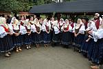 Ovčácké slavnosti u hospody Na Santově v Malé Bystřici na Vsetínsku.