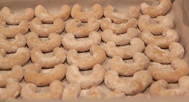 Vanilkové rohlíčky Pavly Stoklasové.