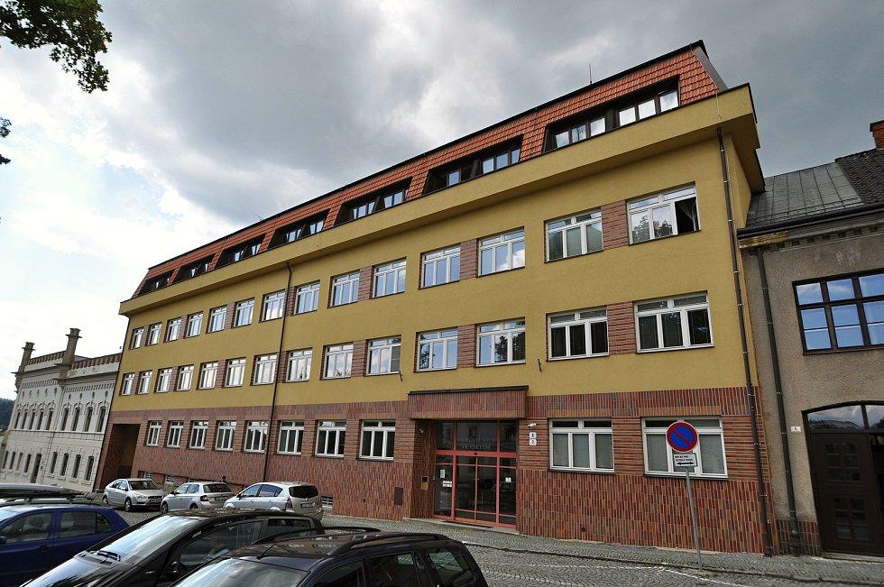 Vsetín - budova Okresního soudu ve Vsetíně