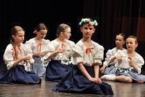 Krajská postupová přehlídka dětských folklorních souborů v Janíkově stodole v Dřevěném městečku ve Valašském muzeu v přírodě v Rožnově pod Radhoštěm; sobota 25. dubna 2015