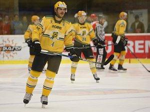Hokejisté Vsetína prohráli v zápase 9. kola WSM ligy na ledě Prostějova