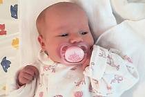 Iveta Hanzlíková, Rožnov pod Radhoštěm, narozena 25. května ve Valašském Meziříčí, míra 46 cm, váha 2680 g