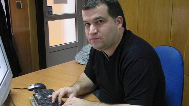 Šéfredaktor Valašského deníku Lukáš Pařenica