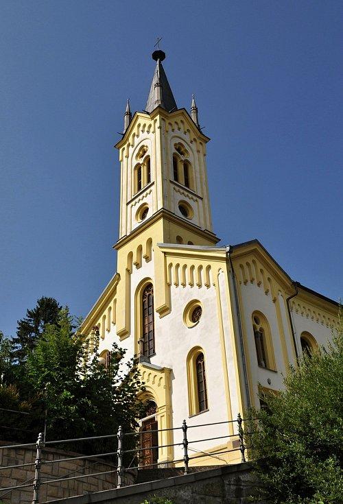 Vsetín - kostel Dolního sboru Českobratrské církve evangelické.