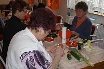 Kurz dekorativního vyřezávání ovoce a zeleniny v Zašové