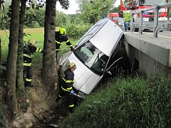 Úterní dopravní nehoda ze Zašové.