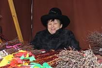 Kromě tatarů se na jarmarku prodávaly také březové metličky.