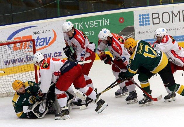 hokej VHK ROBE Vsetín - HC Poruba