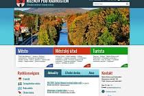 Rožnovský web skončil v soutěži Zlatý erb na stříbrné příčce