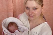 Leona Janáková, Frenštát pod Radhoštěm, syn Daniel Janák, narozen 1.1. 2008 ve Valašském Meziříčí, váha: 3,10 kg