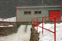 Přehrady na Valašsku se na tání připravily dopředu upouštěním vody.